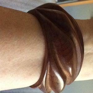 Exotic wood bracelet